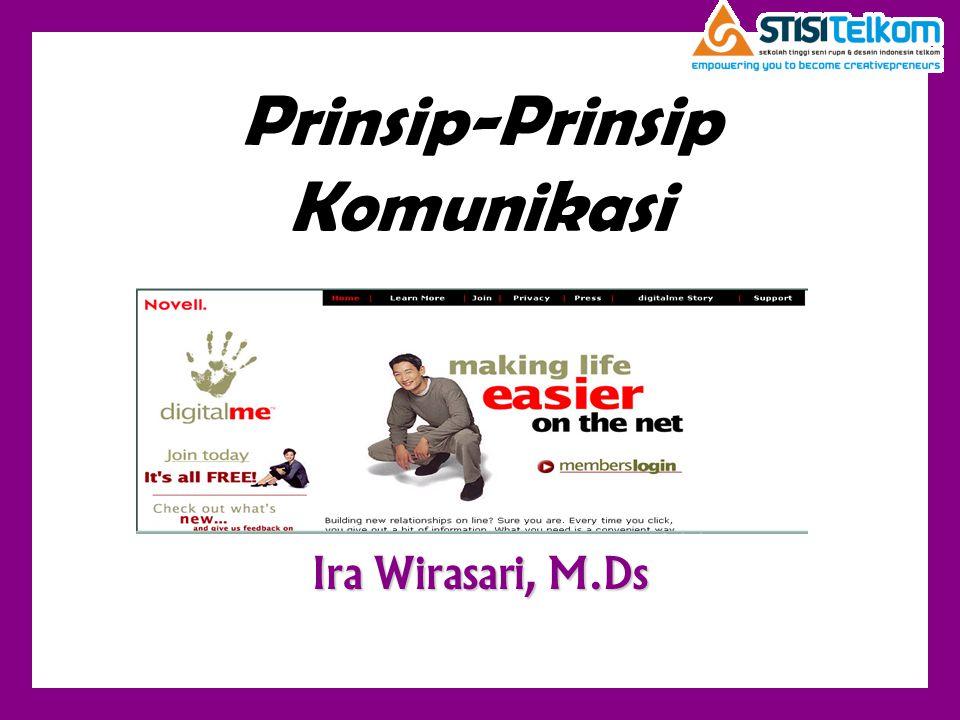Prinsip-Prinsip Komunikasi