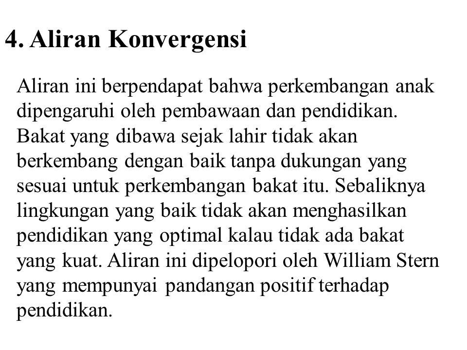 4. Aliran Konvergensi