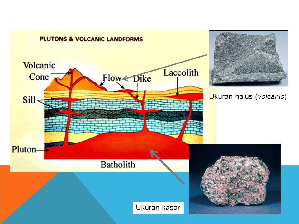 Ukuran halus (volcanic)