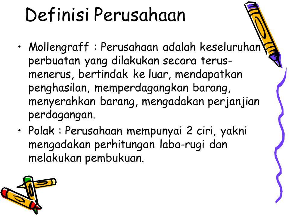 Definisi Perusahaan
