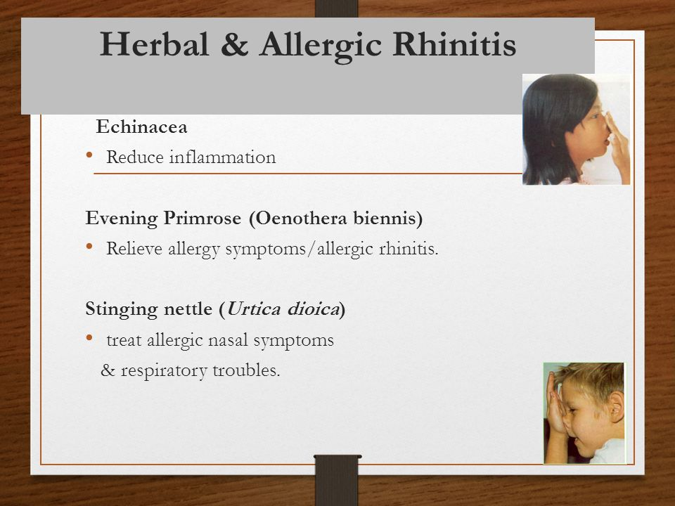Herbal & Allergic Rhinitis