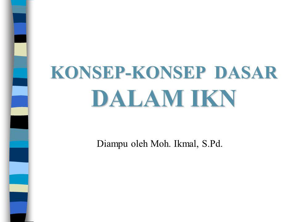 KONSEP-KONSEP DASAR DALAM IKN