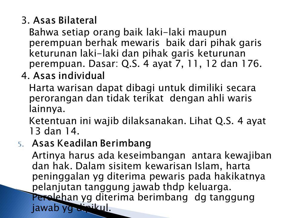 3. Asas Bilateral