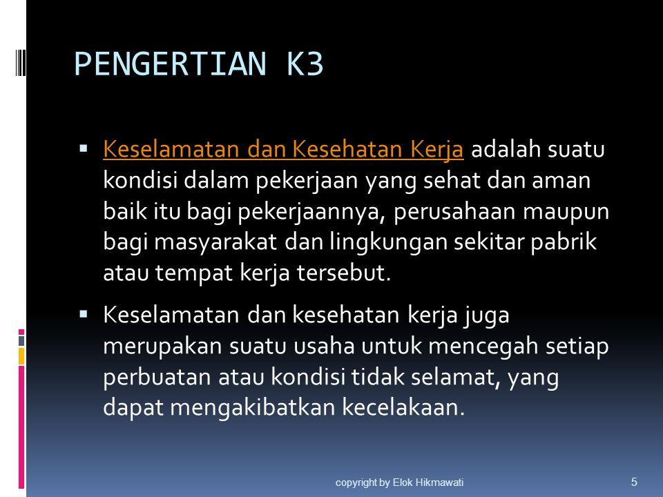 PENGERTIAN K3