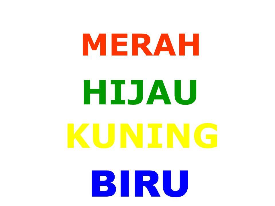 MERAH HIJAU KUNING BIRU