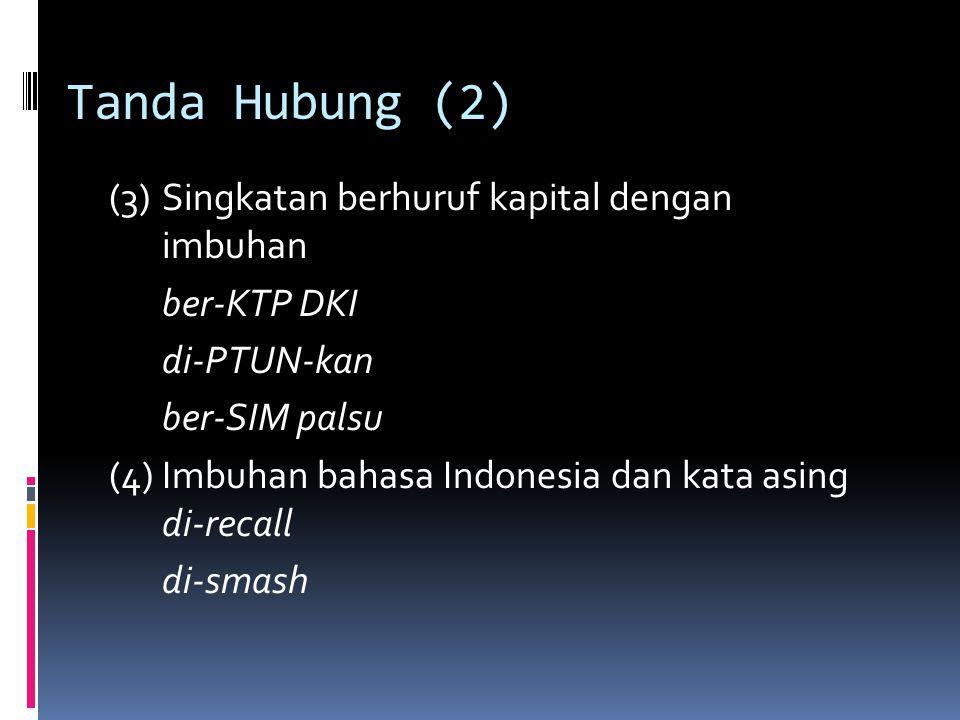 Tanda Hubung (2)