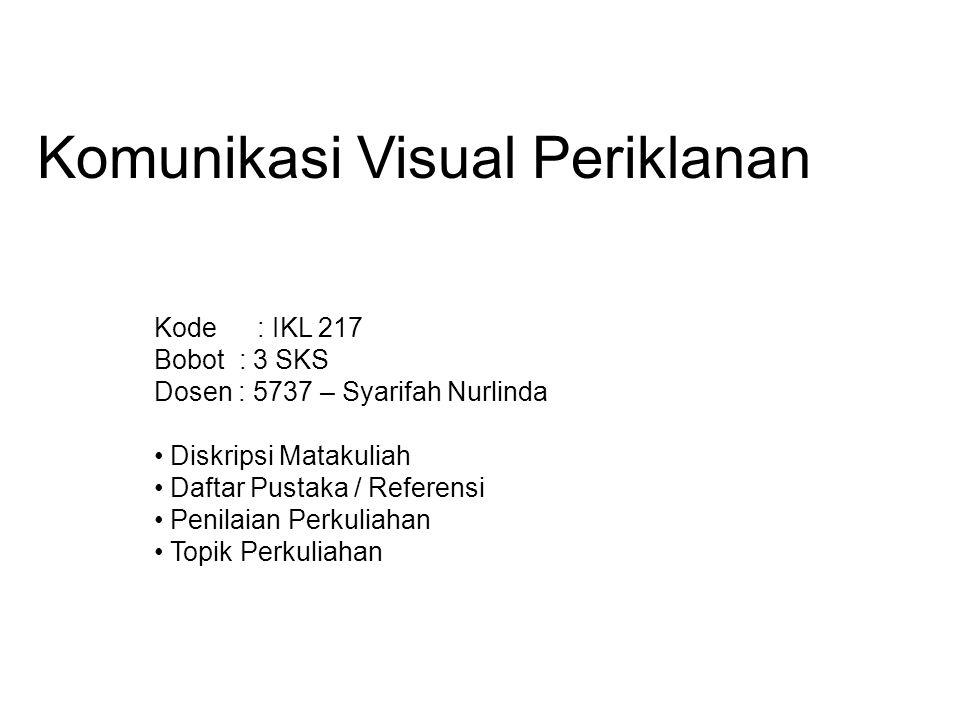 Komunikasi Visual Periklanan