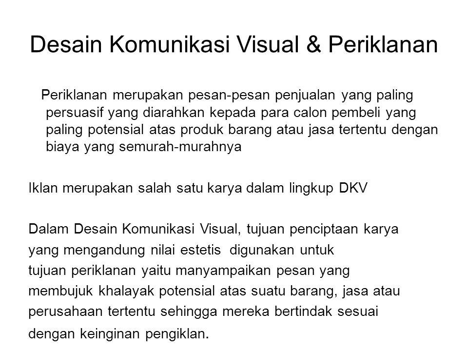 Desain Komunikasi Visual & Periklanan