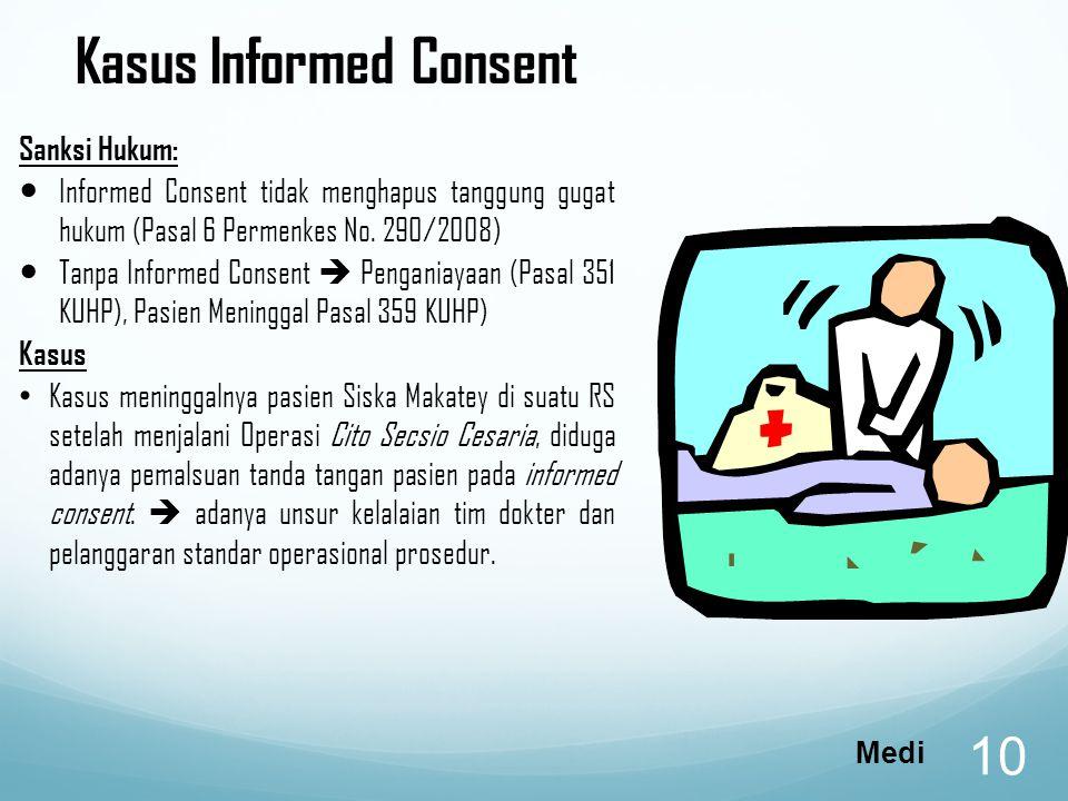 Kasus Informed Consent
