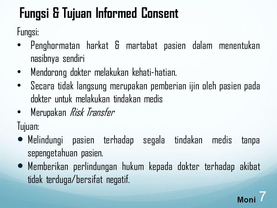 Fungsi & Tujuan Informed Consent