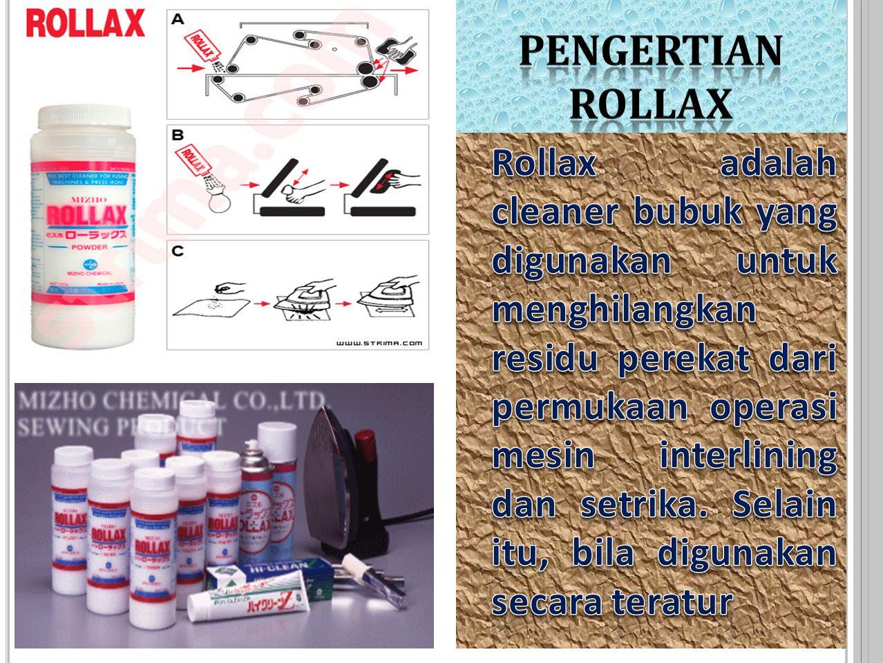 PENGERTIAN ROLLAX