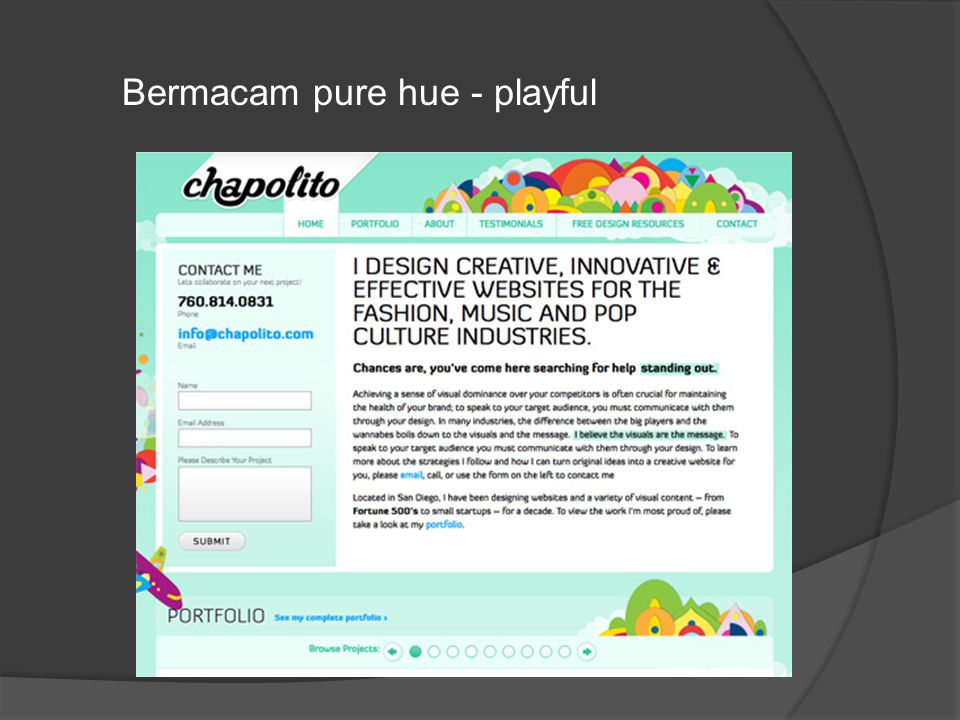 Bermacam pure hue - playful
