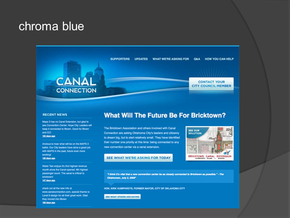 chroma blue