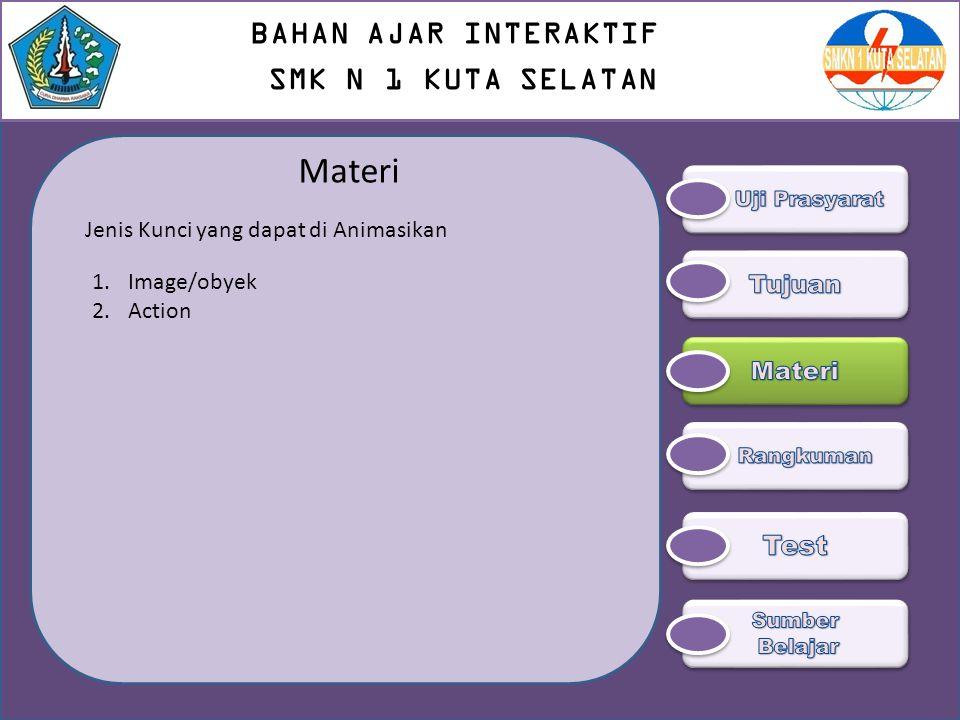 Materi BAHAN AJAR INTERAKTIF SMK N 1 KUTA SELATAN Test Tujuan Materi