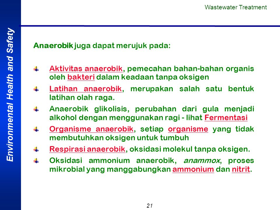 Anaerobik juga dapat merujuk pada: