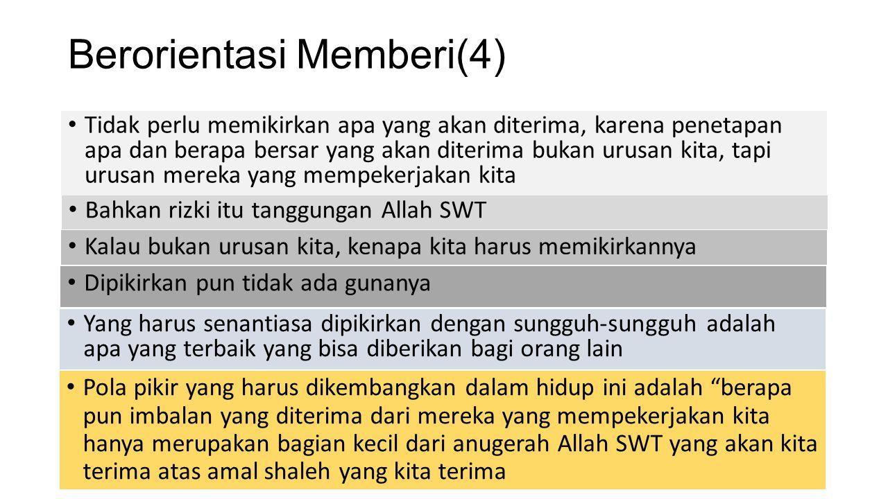 Berorientasi Memberi(4)