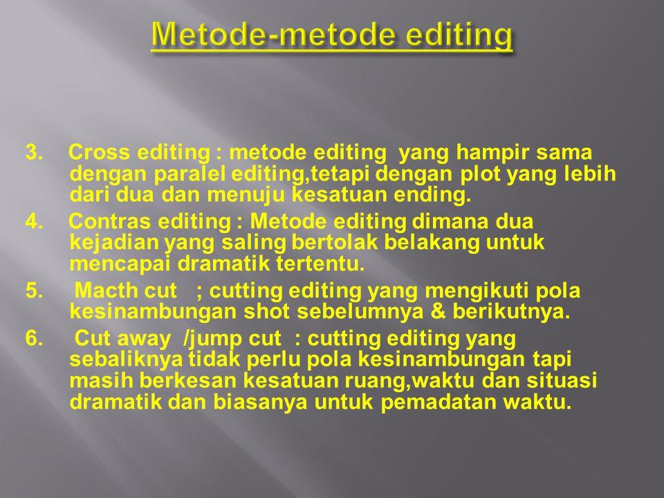 Metode-metode editing