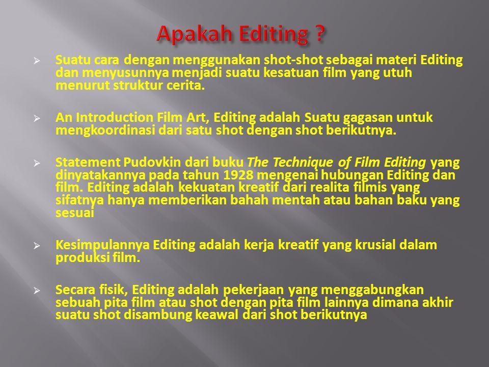 Apakah Editing