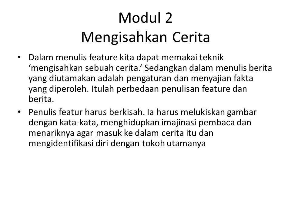 Modul 2 Mengisahkan Cerita