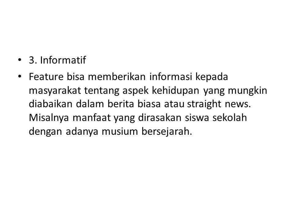 3. Informatif