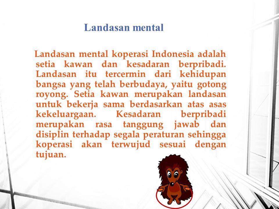 Landasan mental
