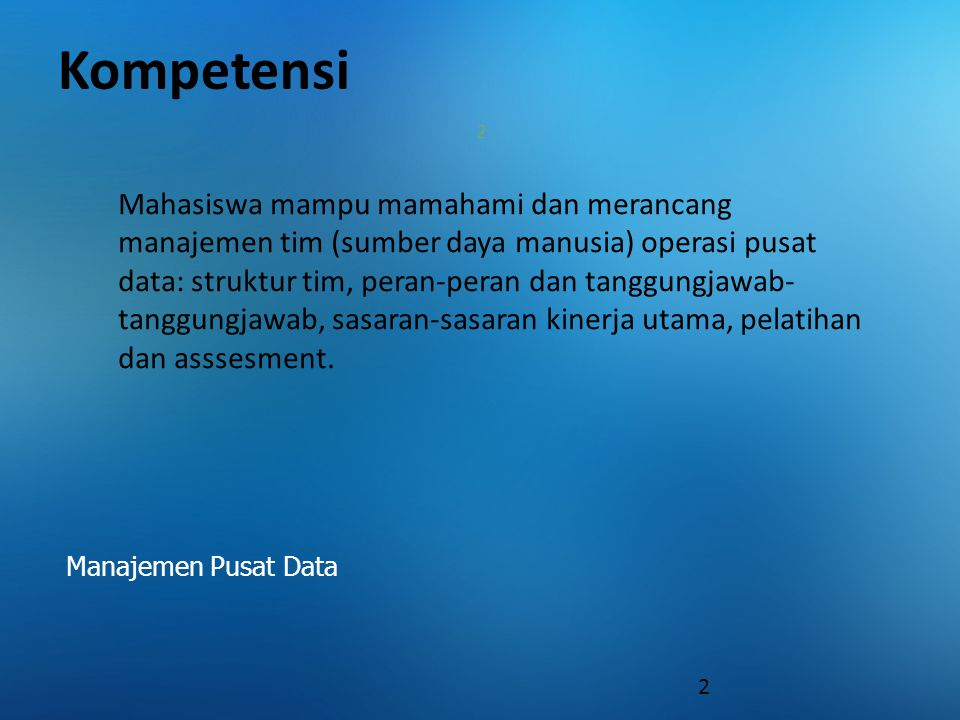 Kompetensi 2.