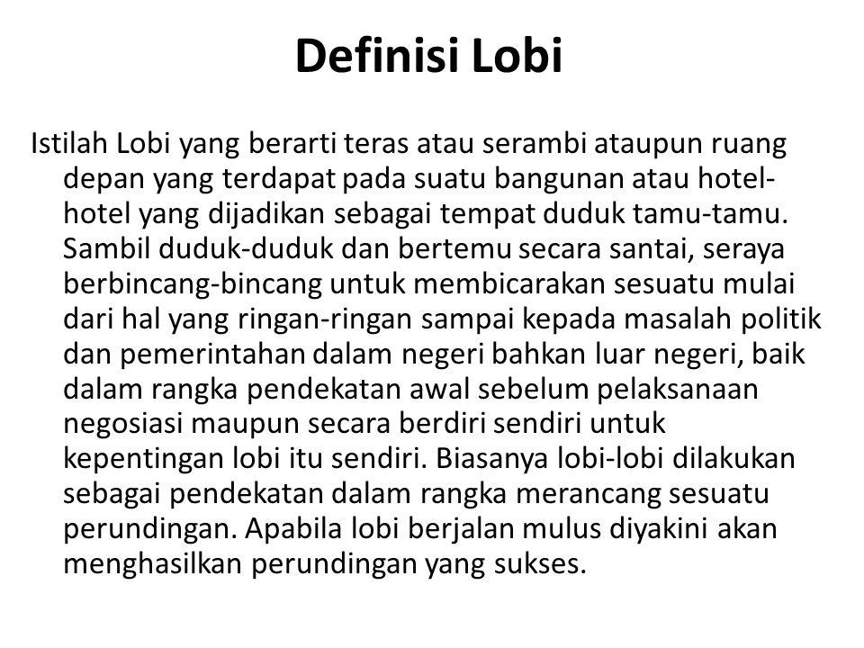 Definisi Lobi