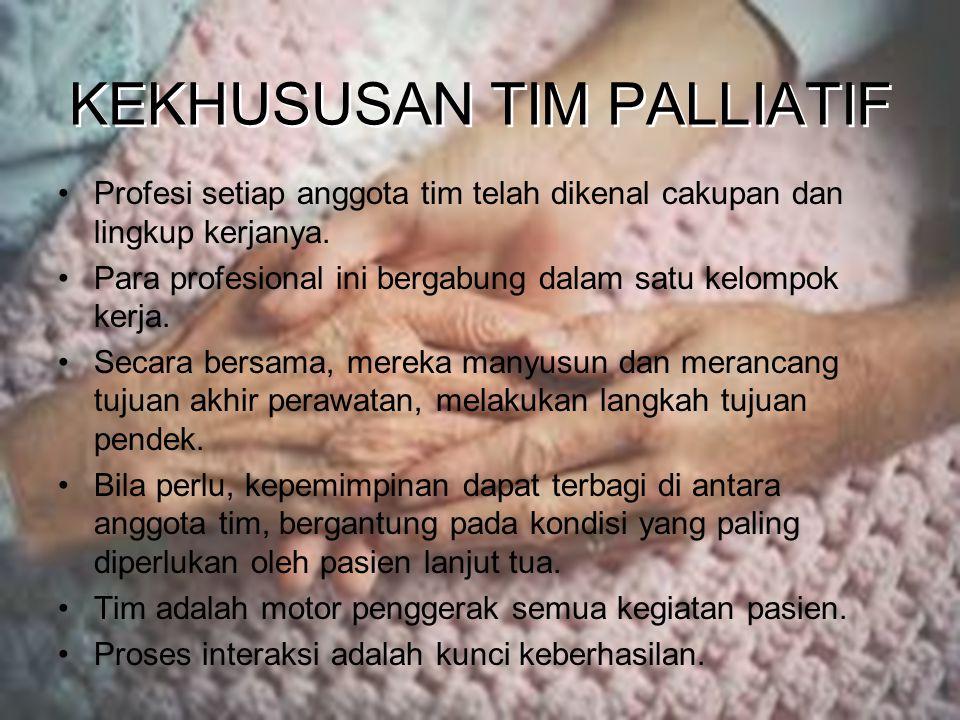 KEKHUSUSAN TIM PALLIATIF