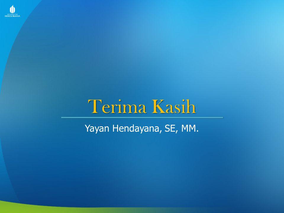 Yayan Hendayana, SE, MM.