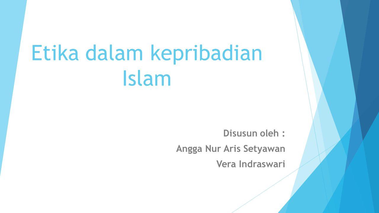 Etika dalam kepribadian Islam