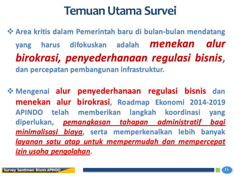 Temuan Utama Survei