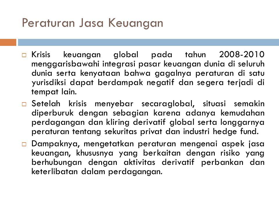 Peraturan Jasa Keuangan
