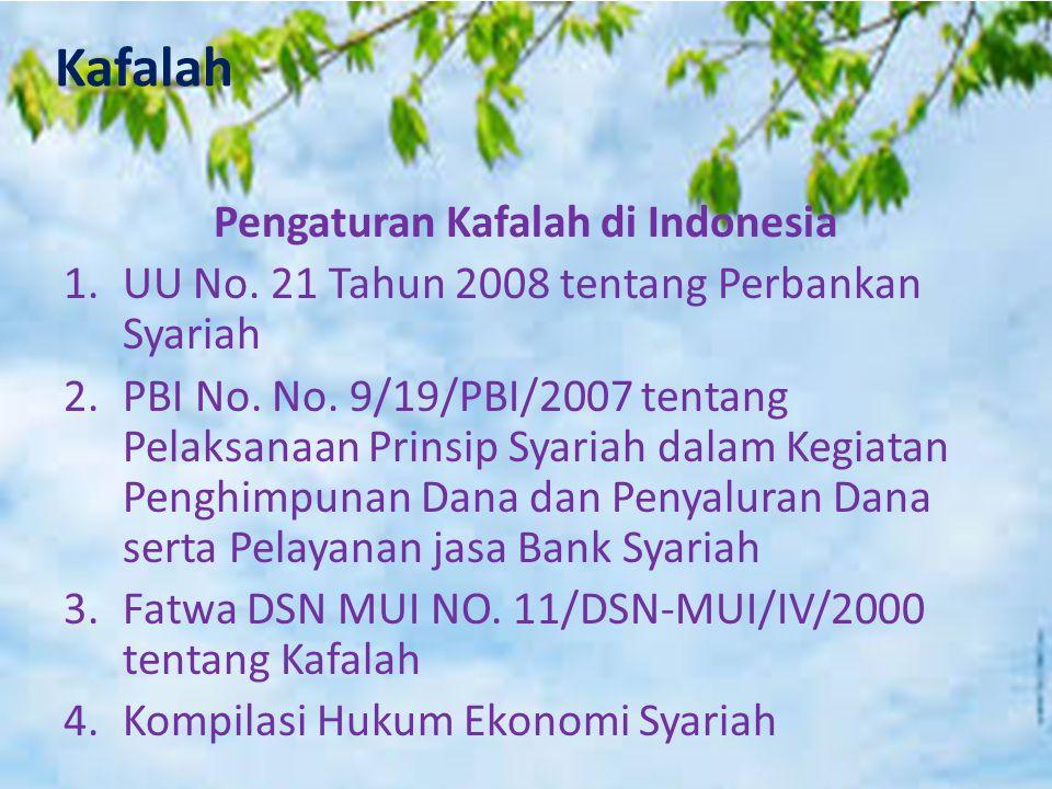 Pengaturan Kafalah di Indonesia