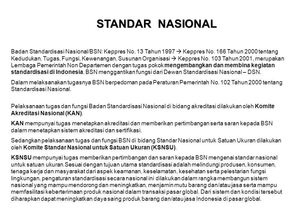 STANDAR NASIONAL