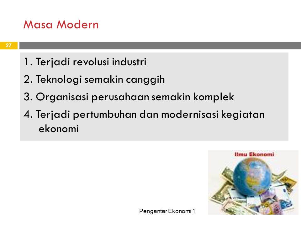 Masa Modern