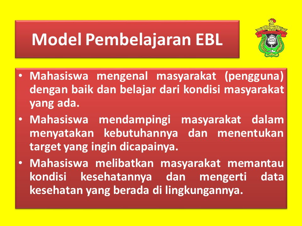Model Pembelajaran EBL