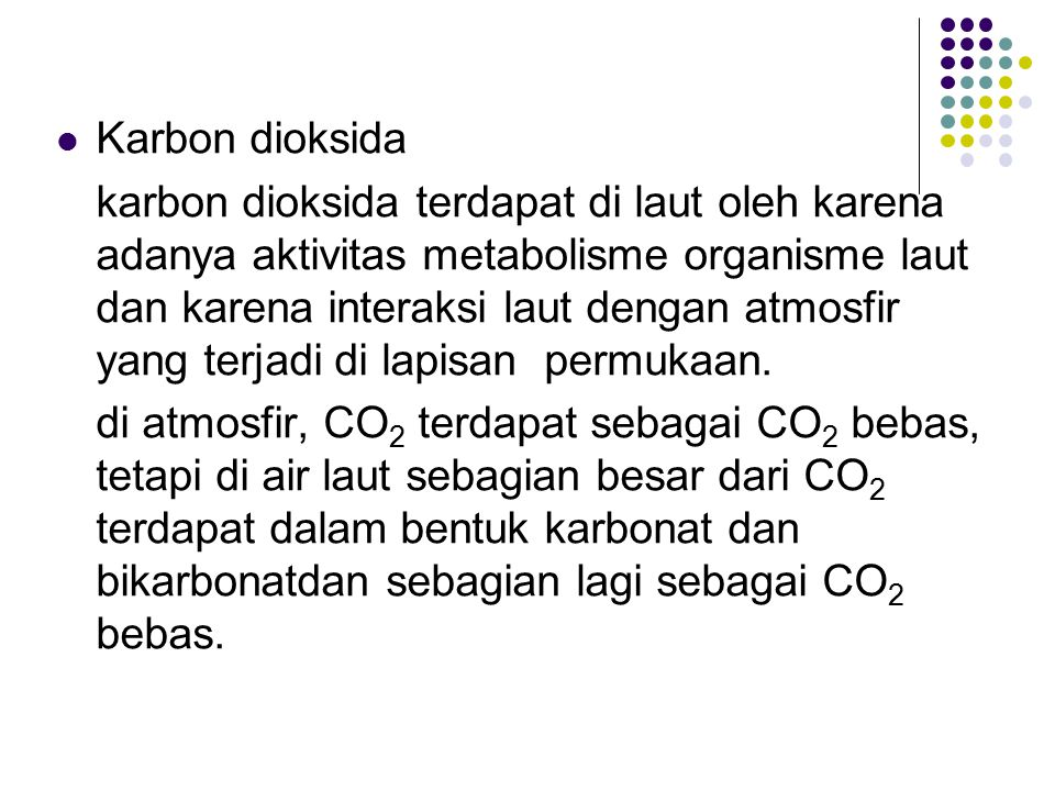 Karbon dioksida