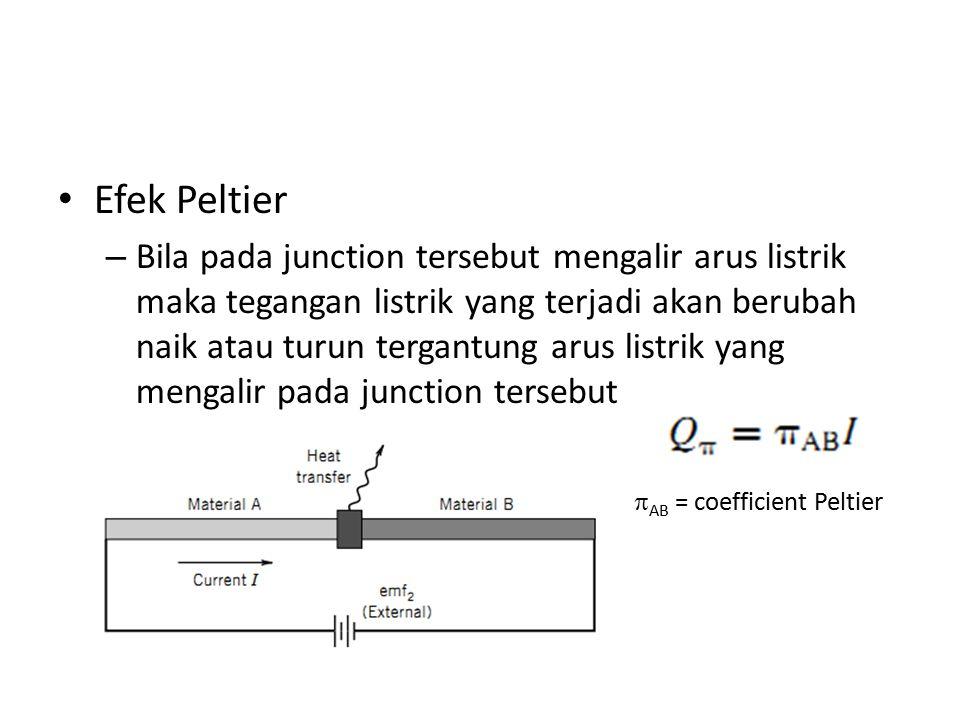 Efek Peltier