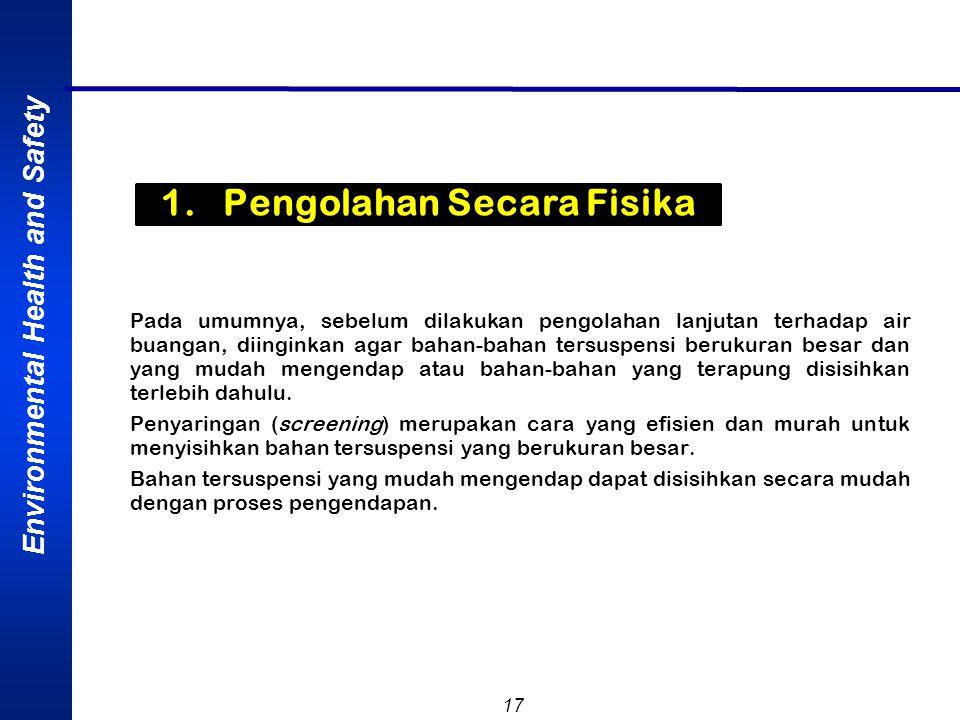1. Pengolahan Secara Fisika