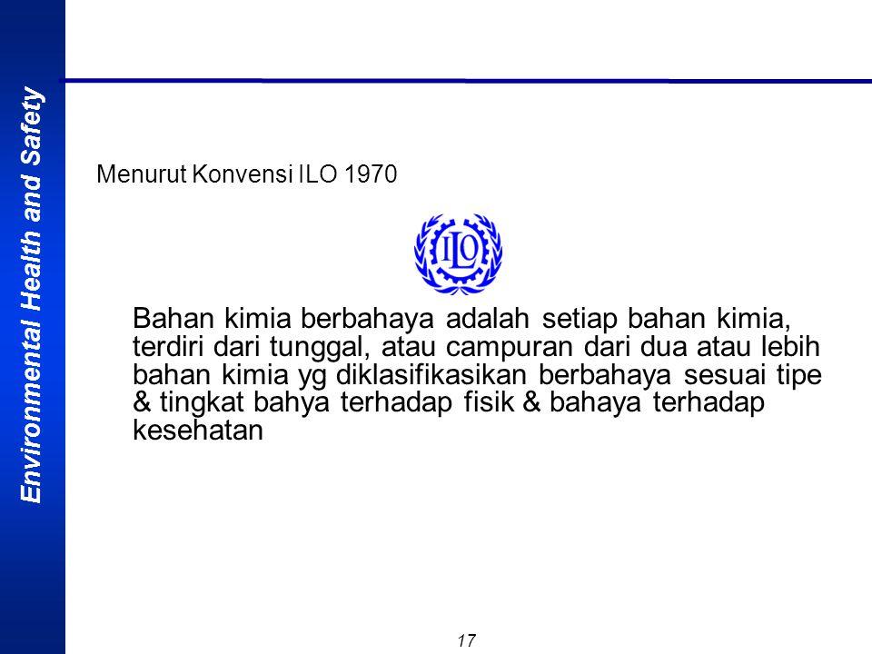 Menurut Konvensi ILO 1970