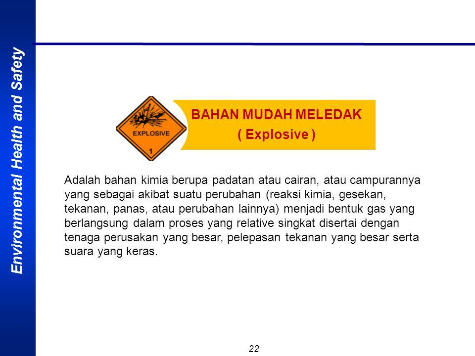 BAHAN MUDAH MELEDAK ( Explosive )