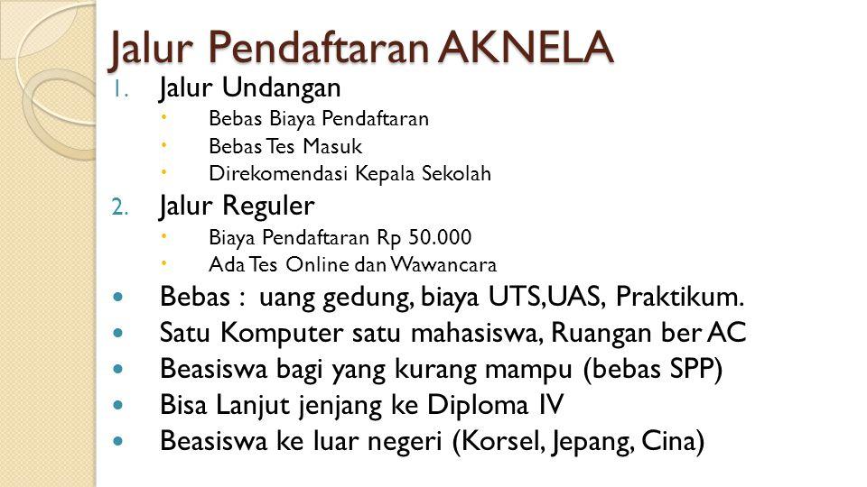 Jalur Pendaftaran AKNELA