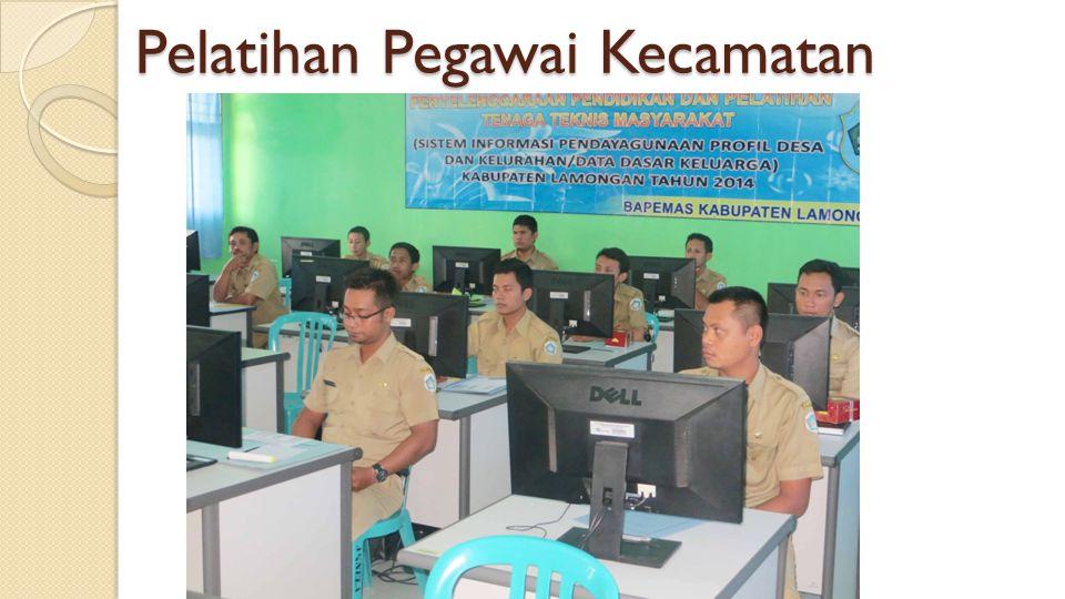 Pelatihan Pegawai Kecamatan