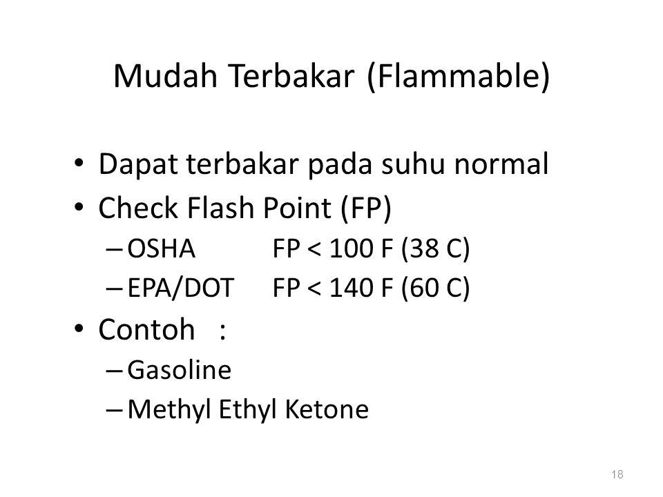 Mudah Terbakar (Flammable)
