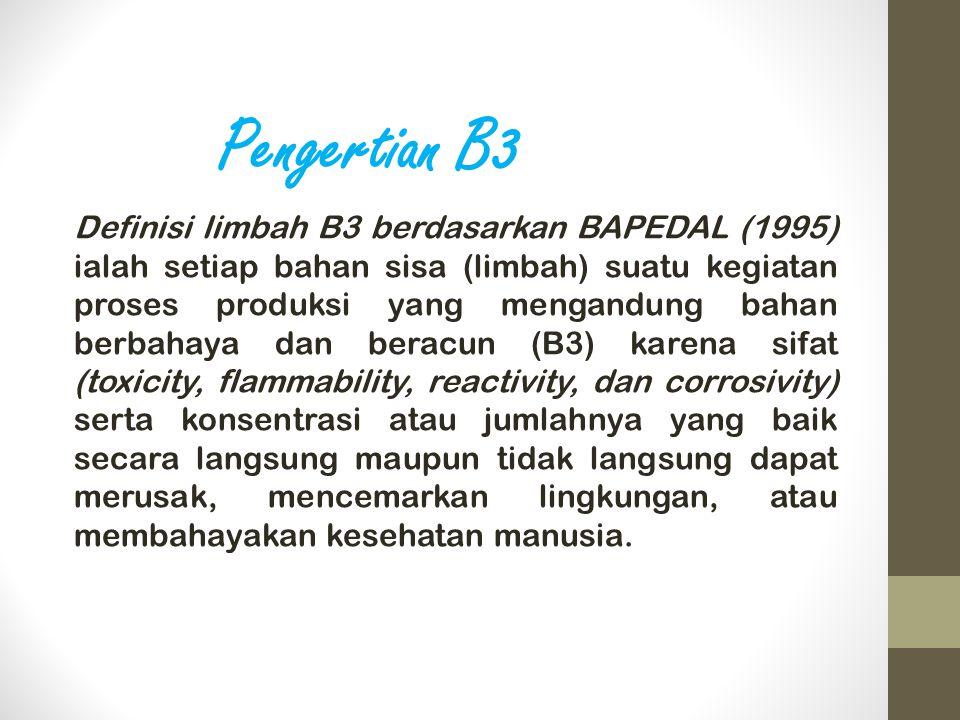 Pengertian B3