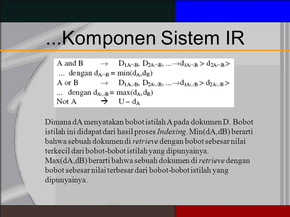 ...Komponen Sistem IR