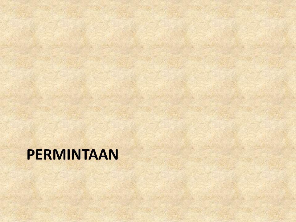 PERMINTAAN