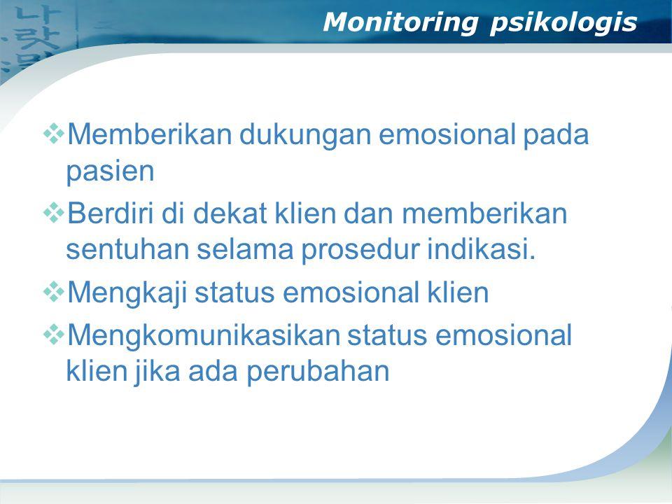 Monitoring psikologis
