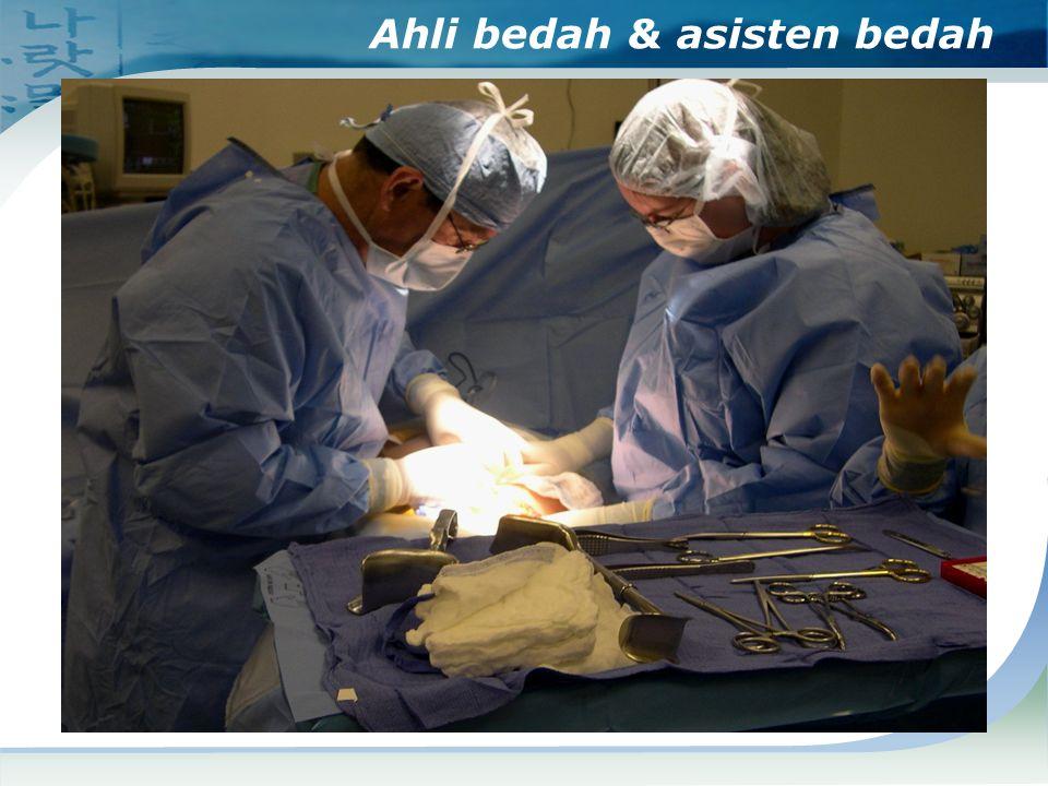 Ahli bedah & asisten bedah