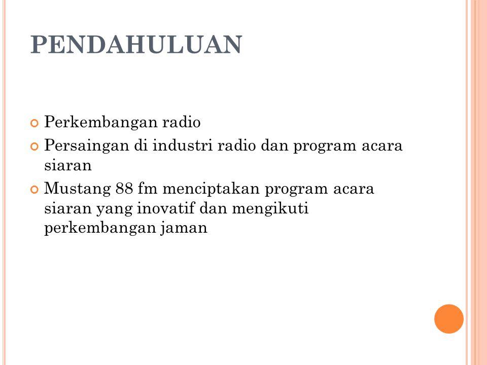 PENDAHULUAN Perkembangan radio